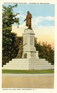 RI - Providence.  Roger Williams Park, Monument