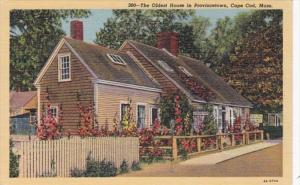 Massachusetts Cape Cod The Oldest House In Provincetown Curteich