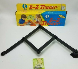 1974 Vintage E-Z Tracer Toy K-tel Original Box Drawing Artist Unused