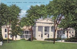 State War Memorial Building Little Rock Arkansas 1949