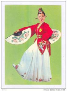 Bu-Che-Choom, A traditional folk dance , Korea, 50-60s