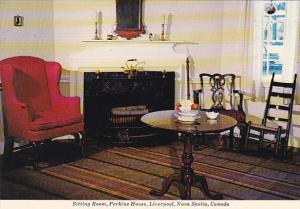 Canada Sitting Room Perkins House Liverpool Nova Scotia