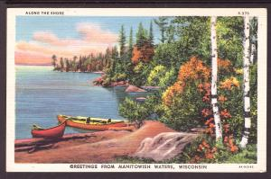 Greetings From Manitowish Waters,WI,Lake Scene
