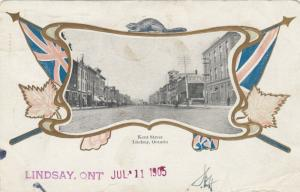 LINDSAY , Ontario, Canada , 1905 ; Kent Street