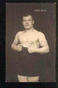 047172 WRESTLING Famous wrestler Taras Willi Vintage