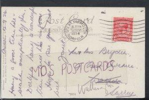 Family History Postcard - Bryden - 9 East Avenue, Wallington, Surrey RF3449