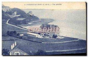 Old Postcard Perros Guirec C N Vue Generale
