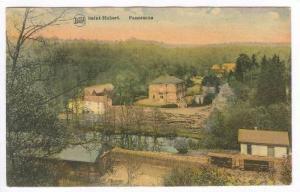 Saint-Hubert, Belgium, PU-1919   Train Depot & logging mill