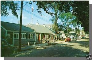 South Dartmouth, Massachusetts/MA/Mass Postcard, The Packet, Padanaram, Old Cars