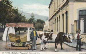 MADEIRA , Funchal , Portugal , 00-10s ; Carro de bois
