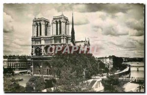 Old Postcard Paris while strolling General view of Notre Dame