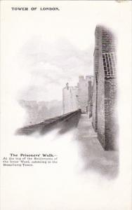 England London The Tower Of London Prisoner's Walk