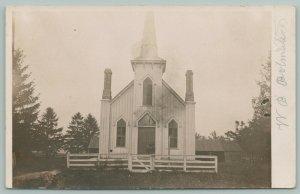 South Marysburgh? (Prince Edward Co ON) Polmateer~Methodist? Church~RPPC 1910