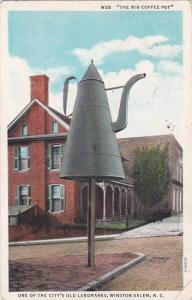 North Carolina Winston Salem One Of The Citys Old Landmarks