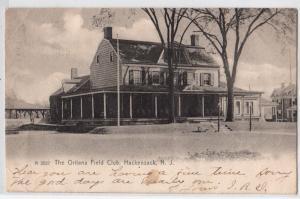 Oritani Field Club House, Hackensack NJ
