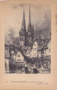 La Rue Du Bourg, Vieux Chartres, Eure et Loire, France, 1900-1910s