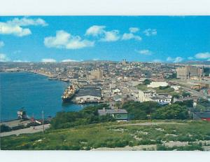 Unused Pre-1980 PANORAMIC VIEW St. John'S Newfoundland NL F8486