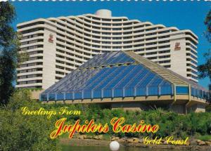 Greetings from Jupiters Casino & Hilton Hotel, Broadbeach, Gold Coast, Queens...