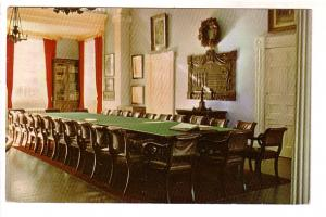 Interior Long Table & Chairs Parliament Confederation Charlottetown Prince Ed...