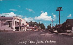 Drug Store, Texaco Store, Store Fronts, Classic Cars, JULIAN, California, 40-...