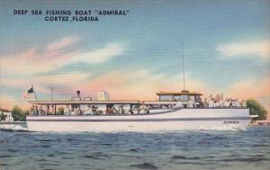 Florida Clewiston Cortez Deep Sea Fishing Boat Admiral