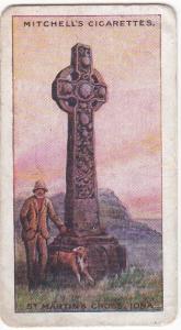 Cigarette Card Stephen Mitchell FAMOUS CROSSES No21 St Martin's Cross, Iona