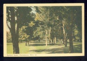 Charlottetown, Prince Edward Island-PEI, Canada Postcard, Rochford Square, 1953!