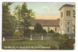 Flat Rock, North Carolina, PU-1908   Church of St John on the Wilderness