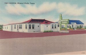 MINERAL WELLS , Texas , 1930-40s ; Pagoda Mexican Foods Restaurant
