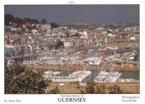 Guernsey Postcard St Peter Port, Channel Islands by D.R Photography P43