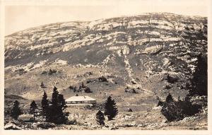 Switzerland La Dole et le Chalet, Mountain AK Postcard