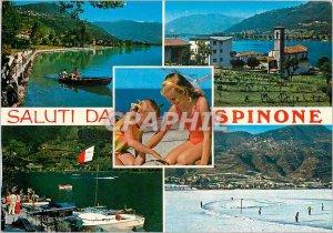 Postcard Modern Saluti da Spinone