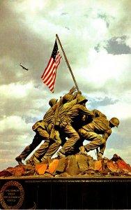Virginia Arlington Iwo Jima Statue U S Marine Corps Memorial