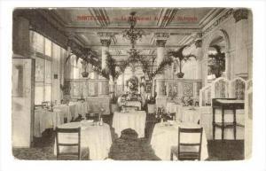 Monte-Carlo.-Le Restaurant de l'Hotel Metropole , PU-1911 (Monaco stamp)