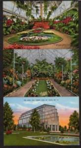 MO Lot 6 Jewel Box Forest Pk ST LOUIS MISSOURI Postcard