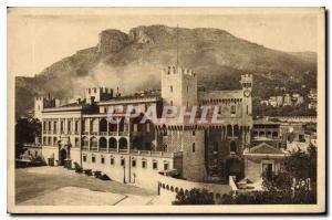 Old Postcard Cote D'Azur Monaco Palos Prince