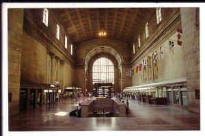Union Railway Train Station, Toronto, Ontario, Interior, Provincial Flags