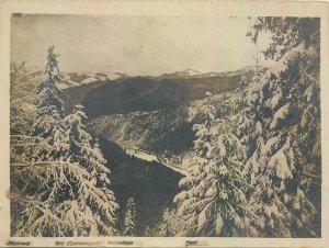 Postcard Czech Republic Clerenostal Karpathen