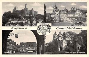 Braunfels Lahn, Der Marktplatz Schloss Braunfels Kleppertor Castle Auto Cars