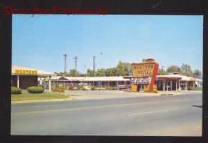 ELK CITY OKLAHOMA WESTERN MOTEL VINTAGE ROUTE 66 ADVERTISING POSTCARD