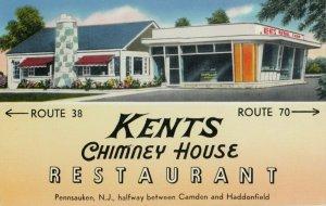 PENNSAUKEN , New Jersey , 1956 ; Kent's Chimney House Restaurant