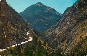 Million Dollar Highway South of Ouray Colorado CO
