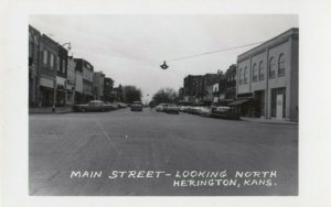 RP: HERINGTON , Kansas , 1930-40s ; Main Street - Looking North