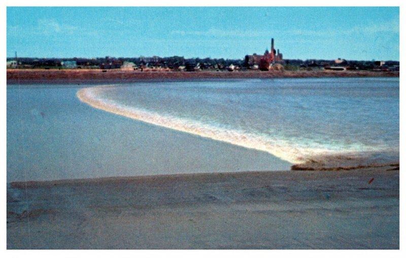 Canada  Moncton N.B. The Tidal Bore