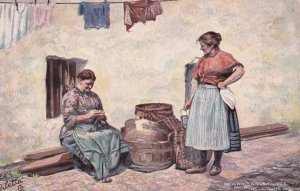 TUCK #9042; NEWHAVEN, East Sussex, England, United Kingdom; Fishwives, PU-1906