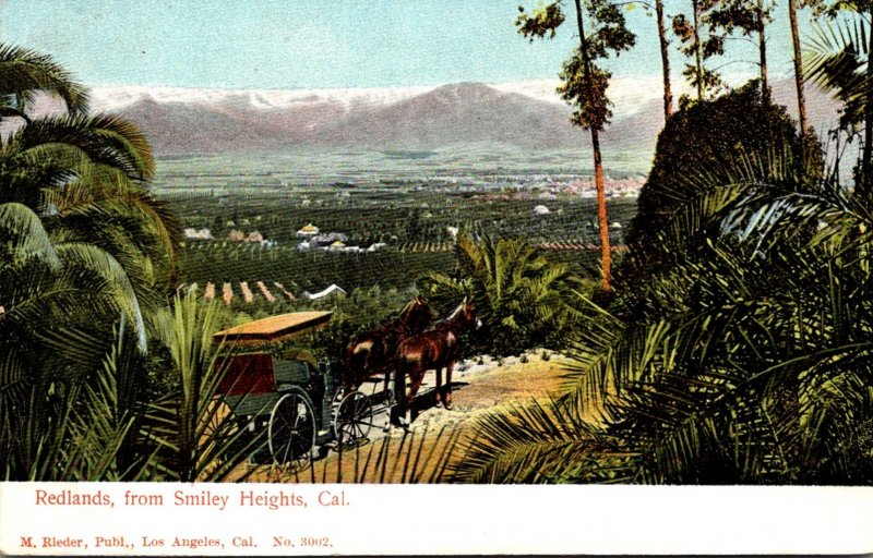 California Redlands From Smiley Heights