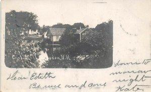 LPS62 Loudon New Hampshire Grist Mill Postcard RPPC