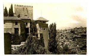 Spain - Granada. Albaicin and Alhambra  *RPPC