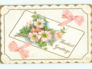 Divided-Back BEAUTIFUL FLOWERS SCENE Great Postcard AA2491