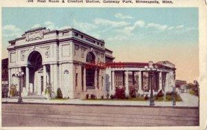 REST ROOM & COMFORT STATION, GATEWAY PARK, MINNEAPOLIS, MN